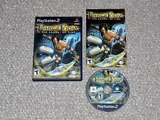 Prince of Persia: The Sands of Time PlayStation 2 PS2 Complete Black Label