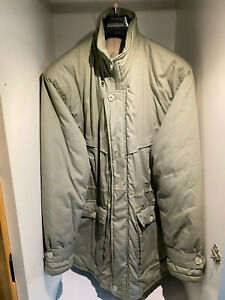 """Mens Westend XL Khaki Quilted Jacket 46"""" Chest"""