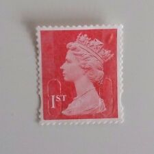 100 1st class unfranked stamps - off paper no gum