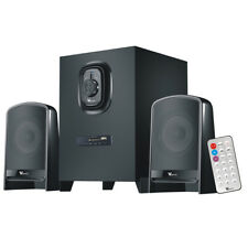 Multimedia Speaker System Subwoofer Bluetooth/USB/FM for PC Laptop Home Theater
