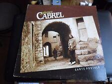 33 TOURS / LP--FRANCIS CABREL--CARTE POSTAL--1981