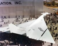 XB-70 / XB-70A VALKYRIE AIRCRAFT ROLLOUT 8x10 SILVER HALIDE PHOTO PRINT