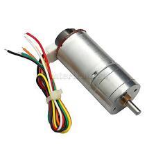 High Torque 12V DC 400 RPM Encoder Gear-Box Electric Motor Replacement