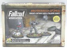 Fallout MUH051238 Knight-Captain Cade & Paladin Danse (Bortherhood of Steel) NIB