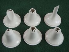 Pampered Chef  Decorating Set Replacement Tips - Lot of 6