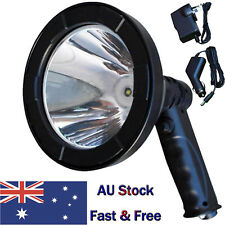 Rechargable Hand Held Spotlight 980W LED Camping Hunting Boating Working Offroad