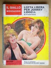 Lotta libera per Johnny LiddellKane FrankMondadori1966giallo930Slesar 29
