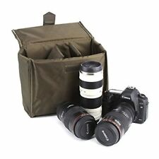 BESTEK Waterproof Canvas SLR DSLR Camera Shoulder Bag Vintage Messenger Bag G..