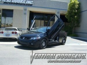 Vertical Doors - Vertical Lambo Door Kit For Honda Civic 2006-11 -VDCHC06082D