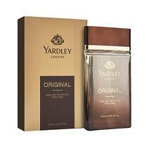 NEW YARDLEY LONDON ORIGINAL EAU DE TOILETTE FOR MEN WITH FREE SHIPPING - 100 ML
