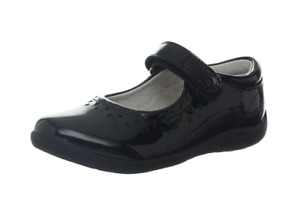 Stride Rite Toddler / Kids SRT PS Cora 625 Mary Jane Flats, Black Patent