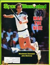 Sports Illustrated Magazine July 16, 1984 - John McEnroe   Wimbledon Champ