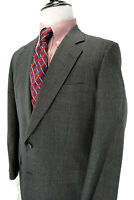 Hickey Freeman Gray Wool Sport Coat  Suit Jacket USA 42R Canterbury Blazer