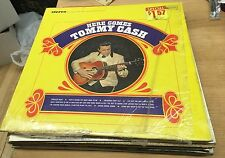 Tommy Cash Here Comes Tommy Cash UAS 6628 Johnny Cash Still in Shrink Mint Rare