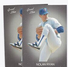 2 X TEXAS RANGERS NOLAN RYAN GRAND SLAM  CARD