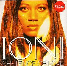 "IONI sentence of love/daydream AM 0162 near mint disc am:pm 1993 7"" PS EX/EX sos"