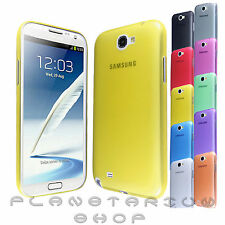 FUNDA SEMITRANSPARENTE ULTRAFINA 0.3MM PARA SAMSUNG GALAXY NOTE 2 N7105