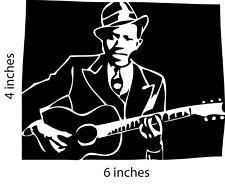 ROBERT JOHNSON 2 Decals  Sticker Cut Vinyl Mississippi Delta Blues Legend Juke