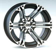 ITP SS212 WHEEL KIT CAN AM OUTLANDER BLACK OR MACHINED