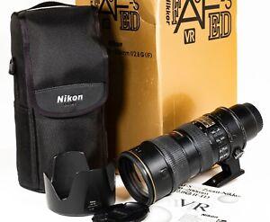 Nikon AF-S 70-200mm f/2.8G IF-ED VR Telephoto Zoom Lens