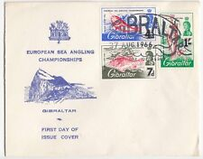 Gibraltar; 27-8-1966 European Sea Angling Championships Set On Unaddressed FDC