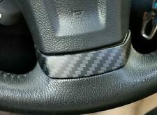 For Subaru forester XV 2013-2015 Matt carbon fiber Steering wheel cover trim 1pc