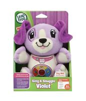 LeapFrog Sing & Snuggle Violet - 6 To 36 Mos - Colors, Shapes, Letters, Music!