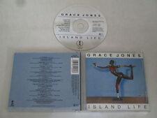 GRACE JONES/ISLAND LIFE(ISLAND RECORDS CID 132+610 584-222) CD ALBUM