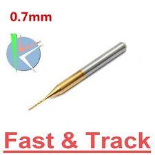 FRESA 0.7mm Tungsten Steel Titanium Coat Carbide End Mill Engraving Bit CNC PCB