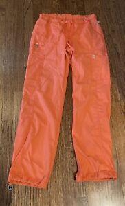 Orange Cherokee Code Happy Scrub Pants Size Small
