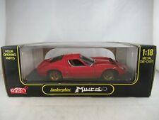 Anson 1:18 Lamborghini Miura red