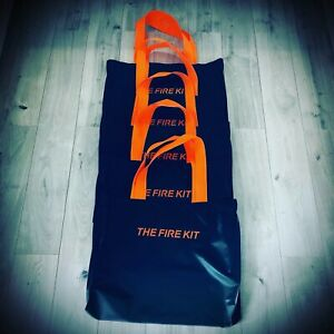 The Fire Kit canvas carry bag, strong black canvas to carry your Fire Kit