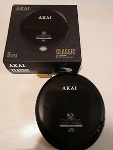 AKAI classic discman CD Player walkman -Tested Working boxed