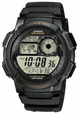 CASIO AE-1000W-1AV Men's Digital 100 Meters LED Backlight Resin Strap Watch