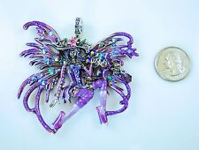 Kirks Folly Circe Fairy Witch Magnetic Enhancer  Halloween  Silver finish  NEW