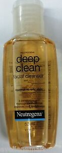Neutrogena Deep Clean Facial Cleanser  50 ML  Normal to Oily Skin  Face Wash