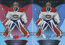 18-19 Trilogy Carey Price /425 RED Parallel Canadiens 2018
