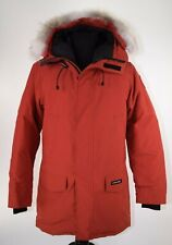 Canada Goose NWT Langford Parka Red Maple 100% Authentic Size Large $1050