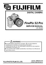 Fujifilm FinePix S2 Pro Service Repair Manual PDF (Portable Document Format)