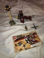 Lego - 7307 - Pharaoh's Quest - Flying Mummy Attack + Instructions Missing 1 Fig