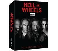 Hell on Wheels The Complete Series seasons 1-5(vol 1,2) DVD Box set 17 disc USA