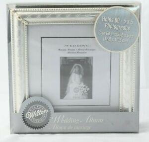 Wilton Enterprises Silver Wedding Photograph Proof Album
