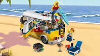 Retired Brand New Mint Condtition LEGO 31079 Creator 3 IN 1 Sunshine Surfer Van