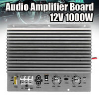 12V 1000W Mono Car Audio High Power Amplifier Board Powerful Bass Subwoofer