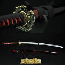 HANDMADE Japanese Samurai KATANA Sword Full Tang 1060 Carbon Steel Can Cut Trees