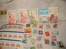 Vintage Huge Postal Stamp Lot Usa & Other