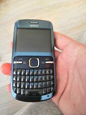 Nokia C3-00 - Slate blue (Unlocked) Mobile Phone