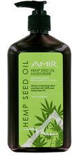 5 Bottles Amir Hemp Seed Oil Moisturizer, 18oz each. Contain Pure Hemp Seed Oi