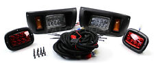 Club Car DS Golf Cart LED Light Kit w/Upgradable Harness