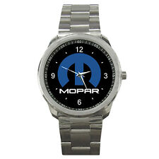 Mopar Dodge Ram Chrysler Jeep Logo Sport Metal Watch For Gift No T Shirt